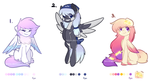 .: [CLOSED Auction] Ponies for adoption #1 :. by Felcia