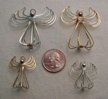 Angel Pins by MajorTommy