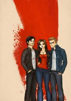 The vampire diaries by Deerane