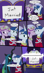 MLP Just Married by LoCeri