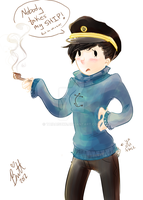 GenderSwap Captain Haddock by TaiDaisuke