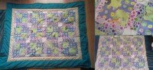 Kitty Cat Quilt by themagpiesnest