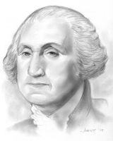 George Washington by gregchapin