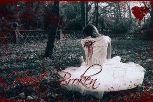 Heart Broken BACKGROUND by rabidbribri