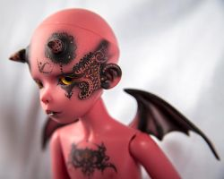 Lil' Demon Boy by Reshana