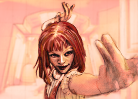 Milla Jovovich - The Fifth Element by Grozlin