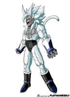 Super Saiyna Devil Turles [TheOneKingLeek version] by PLATINUMBROLY