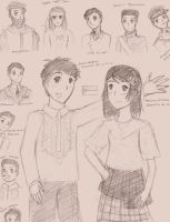 APH - Philippines sketches by 70k1d0k1