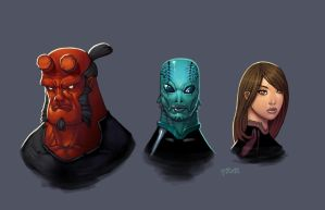 supers 04  BPRD by redeve