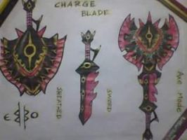 Pharaponera Charge blade by kaiserBEBO
