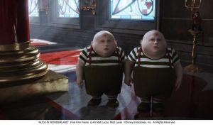 Tweedles - film still by AliceInWonderland