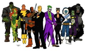 Colored Villainy by chopperman69
