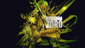 Roronoa Zoro Wallpaper 2 by DeathB00K