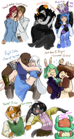 Webcomics OTPs by bunnish