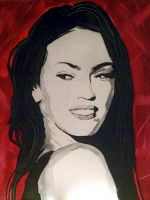 Megan Fox by ASanchezDesigns