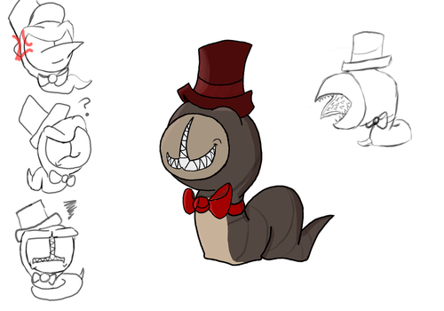 Fred the Leech (Gift to ToxinaTehSkunk) by TheHackingRotom