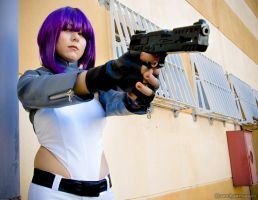 Major Motoko Kusanagi by andyamasaki