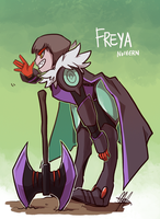 Pokemon OC: Freya by ky-nim