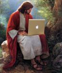 Jesus' Mac by wired4use
