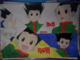 My name is Gon! [WIP4] by Gamble55