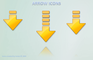 Arrow icons by tonev