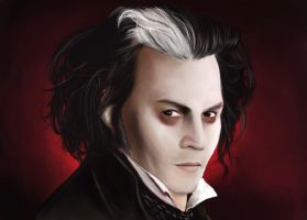 Sweeney Todd by hagrid78