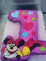 Minnie Mouse 1st birthday by KauseNeffect
