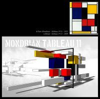 Mondrian tableau 11 by Winerla