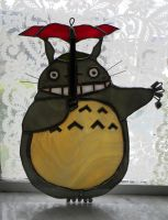 Totoro by GhostyBoo