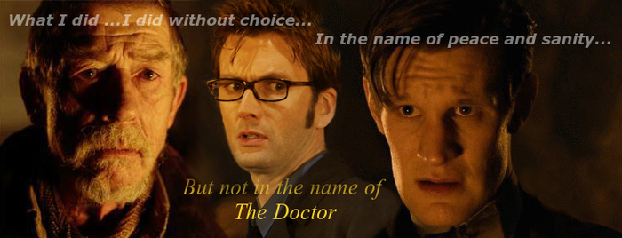 The Two Doctors and the Betrayer by PaintFan08