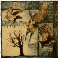crows- go on and fly away by RozMacLean