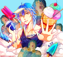 Happy B-day Aoba!! by PandoraRequiem