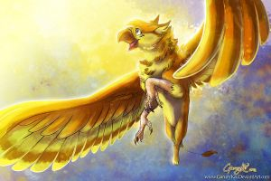 : Golden Feathers : by GaruryKai