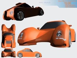 'Telos' concept car by Mechis