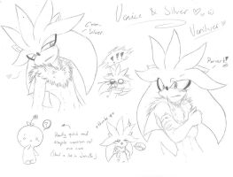 .:Sonic:. Venice and Silver bringing sexy back by SilverfanNumberONE