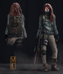 Female Character - The Division by Kreetak