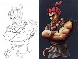 Akuma by sequentialartist