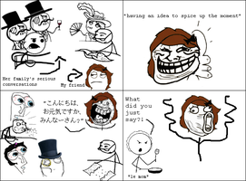 RageComics: Sudden Japanese by waraulol