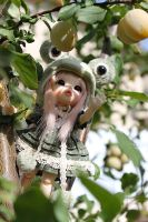 Nougatine trying to catch fruits by Patipat42dolls