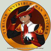 Invisible Man Sticker by dubird