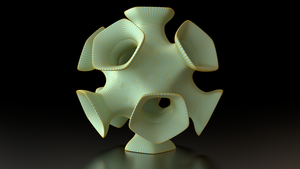 Flared Dodecahedron by mlindeart