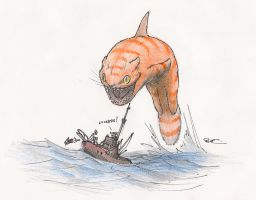 CatJaws by RobtheDoodler