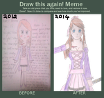 Draw this again meme by xSparkledust123x