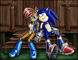 Sonic SATAM: Small talk by zeiram0034
