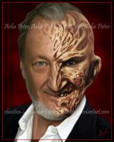 Robert Englund Portrait by Chaotica-I