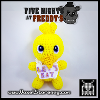 Chica (Five Nights at Freddys) by VoxelPerlers