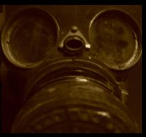 gas mask by nigelleitch