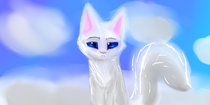 Sky kitteh by xXWildTailXx