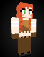 Miss Fortune in Minecraft by Endette