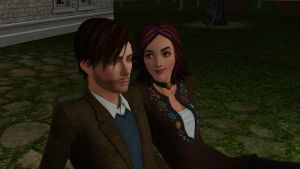 TS3xHP: Lupin and Tonks by riezforester